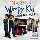 The Diary of a Wimpy Kid Movie Wall Calendar: Rodrick Rules 2011-2012 Movie Wall Calendar by Jeff Kinney (2011, Calendar)