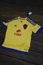 Colorado Rapids Youth XL Yellow Soccer Jersey by Adidas new with tags