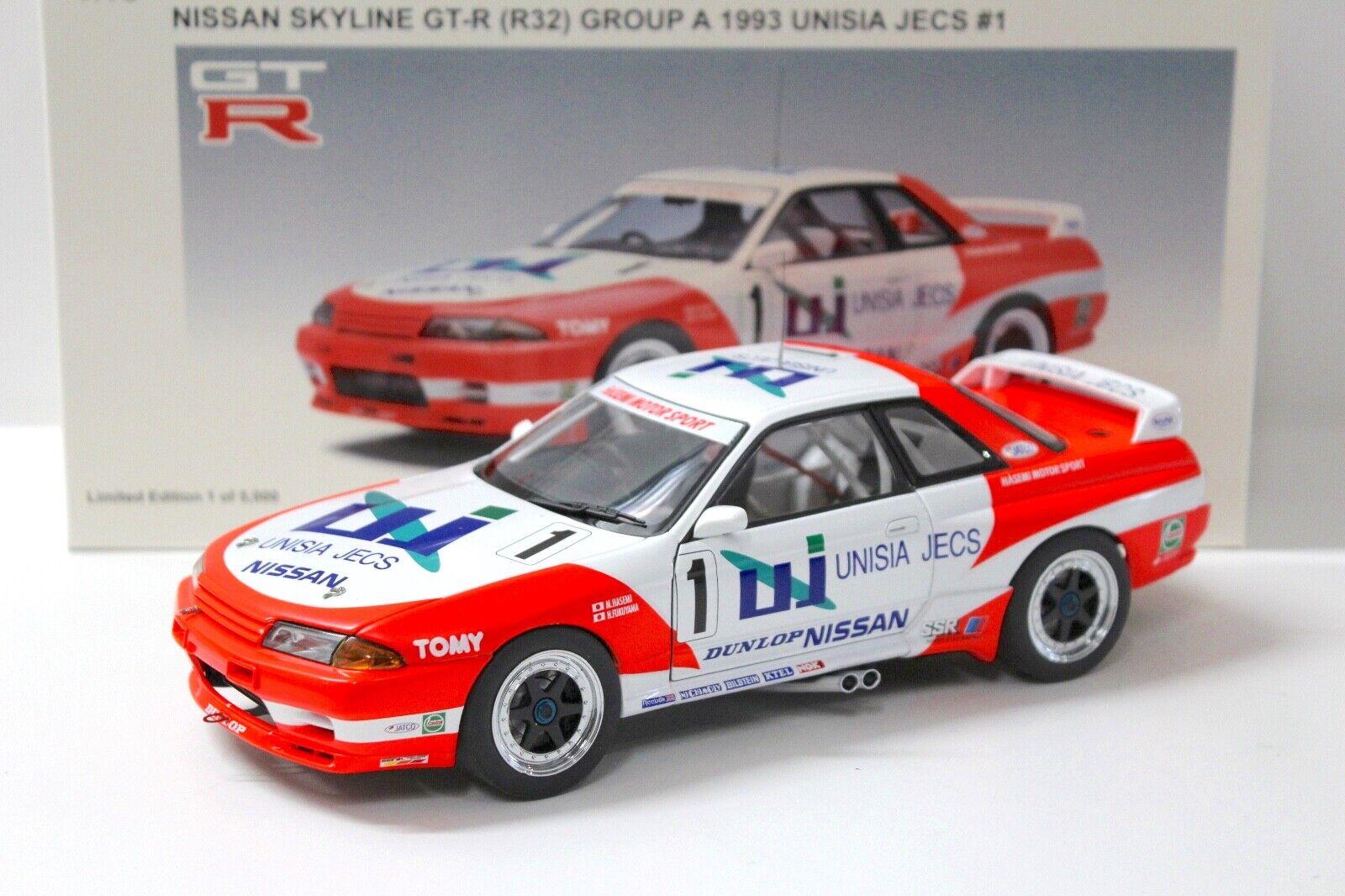 1.18 auto Nissan Skyline GT - R r32 a unisia 35 Cassia 1