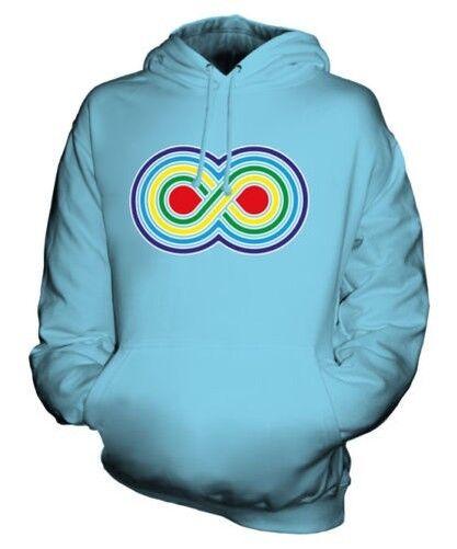 Leuchtend Infinity Symbol Unisex Kapuzenpulli Top Geschenk Logo Traditionell