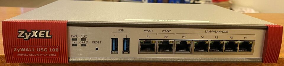 Firewall, Zywall USG 100, Perfekt