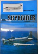 Warpaint Series No.18 - Douglas SKYRAIDER Inc AD-1 to AD-7  28 Pages  Book
