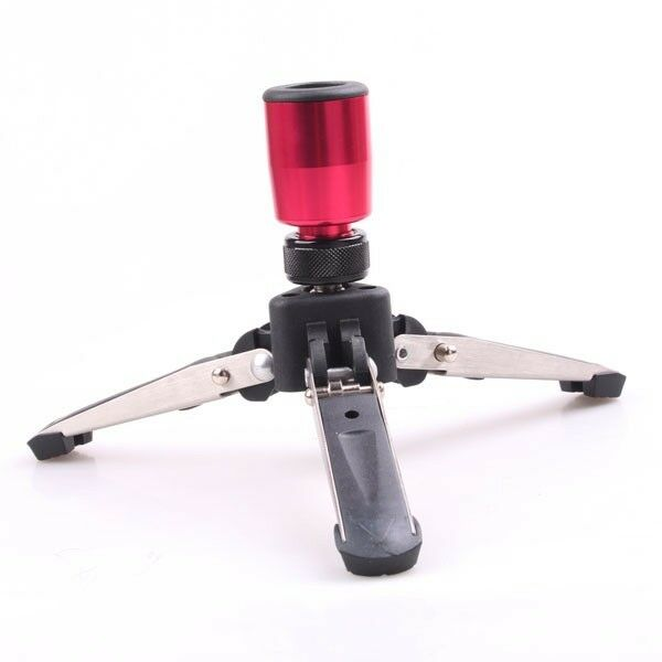 Hydraulic universal Three feet Support Stand for all Monopod with 3/8 screw