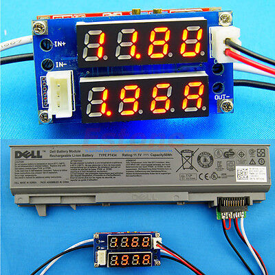 CC/CV Step-down Charge LED Driver Voltmeter Ammeter  Module 5A Adjustable Power