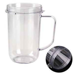 Remplacement-Juicer-Tasse-avec-support-de-poignee-Clair-pour-Magic-Bullet-Blender