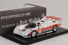 1990 Porsche 962 #86 1.Platz IMSA Miami Wollek Barilla1:43 Spark Memory of