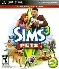 Sims 3: Pets -- Limited Edition  (Sony Playstation 3, 2011)