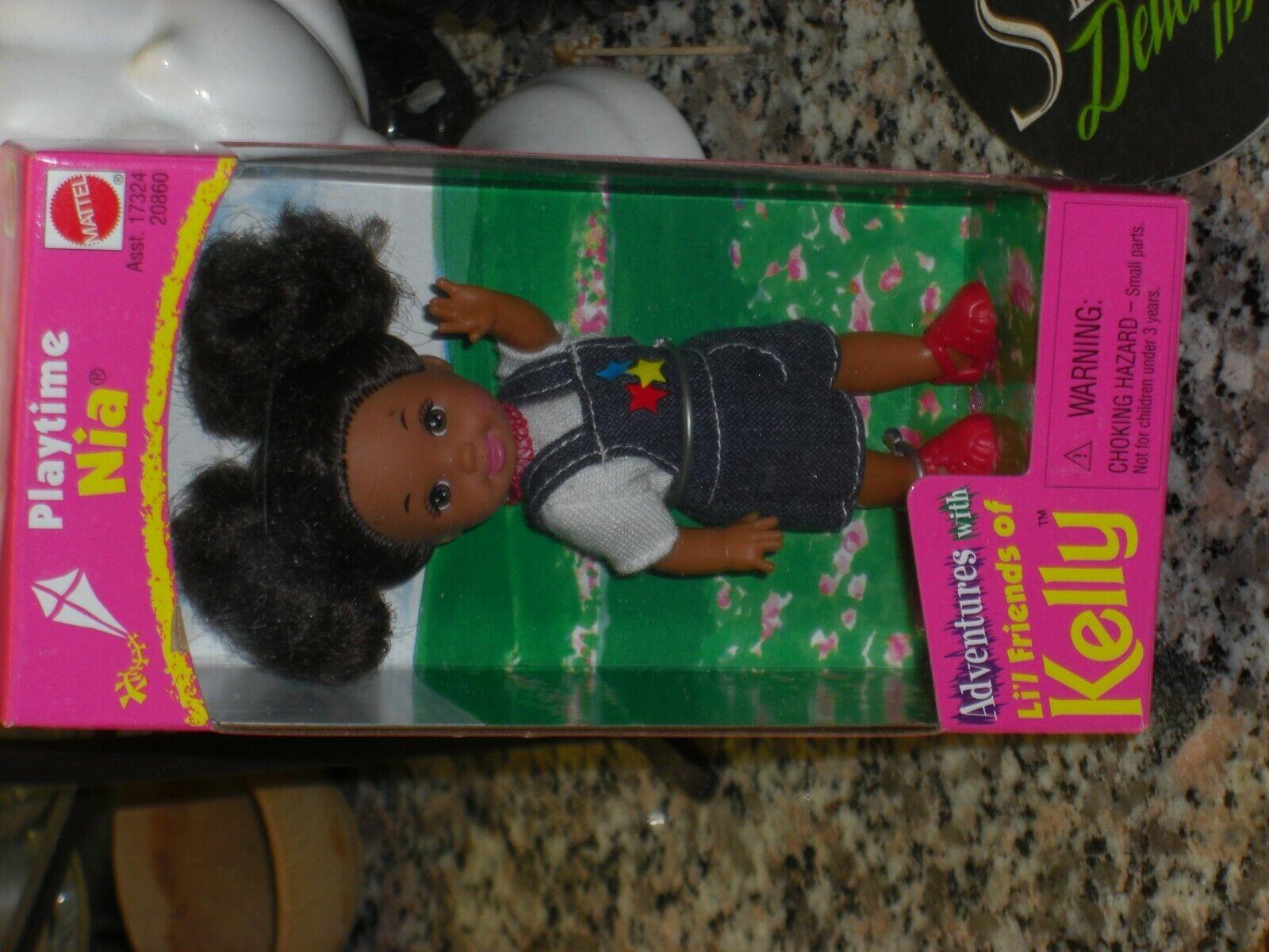 1998 Vintage aventuras con Abner Amigos De Kelly recreo Nia    Barbie