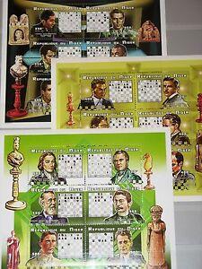 Niger-1999-KLB-1628-45-MS-1023-25-chess-player-joueur-d-039-echecs-echecs-sport-MNH