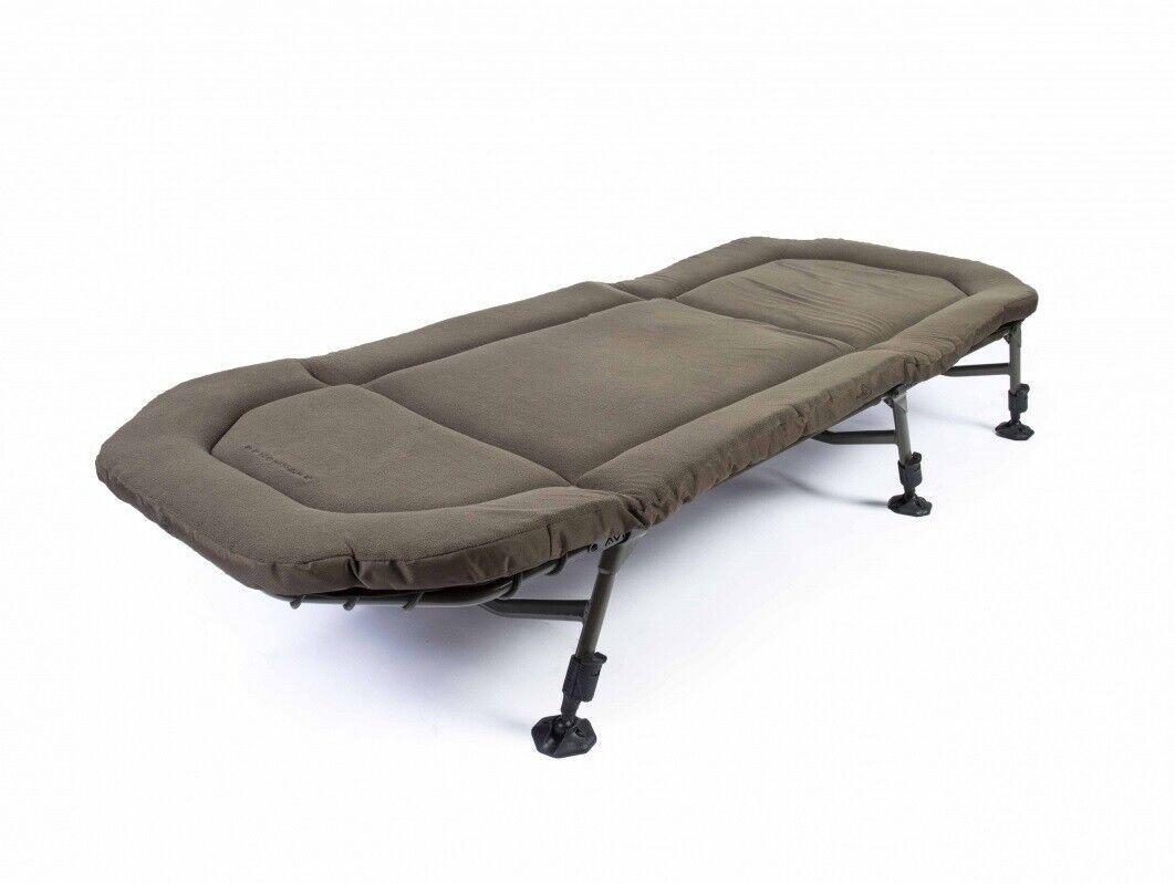 Avid Carp benchmark MEMORY FOAM Bed a0440006 Lettino Bedchair Carpa Lettino Letto