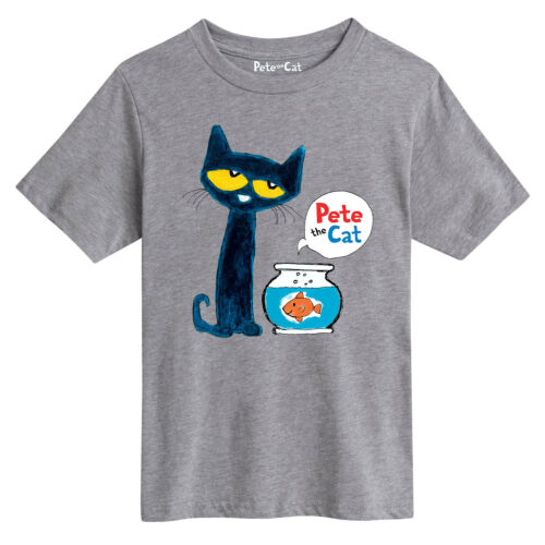 Youth Short Sleeve Tee Pete The Cat Pete The Goldfish