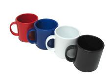 60 Plastic Coffee Mugs New Blank Whole Lot Catering Supply Bulk Set 11oz