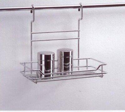 Wesco Relingsystem 16 mm Küchenreling Ablage Gewürzbord Regal Küchenrollenhalter
