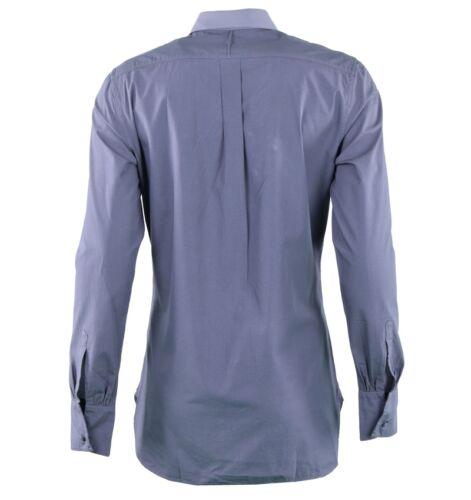 03721 in con Dolce Camicia grigia cotone grigio morbida Gabbana camicia Plastron R7x6qvAw