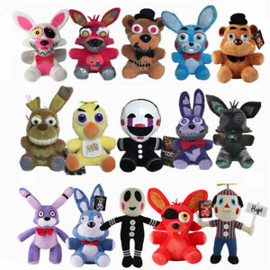 Five-Nights-at-Freddy-039-s-Plush-Stuffed-FNAF-Toy-Plush-Foxy-Bonnie-Doll-US-Stock