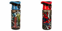 Marvel Avengers Or Spiderman Disney Store Leak-proof Screw-top Lid Water Bottle