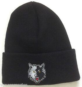 Image is loading NBA-Minnesota-Timberwolves-Cuffed-Winter-Knit-Hat-Cap- 78b6043f55d