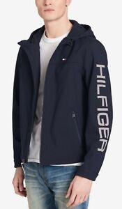 Tommy Hilfiger Men's Logo Hooded Soft Shell Jacket