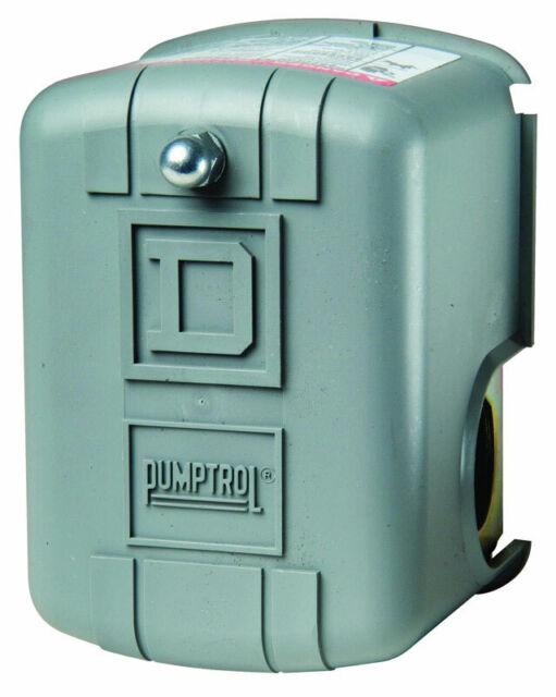 Air Compressor Pressure Switch Universal Square D ~ 80-100PSI ~ NEW