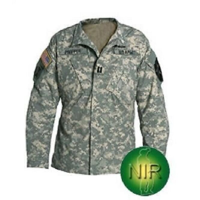 US ARMY fonction Tactical Nyco Combat ACU AT digital Coat Veste LR Large Regular