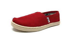3910d21b129 Image is loading Toms-Kids-Youth-Classic-Canvas-Slip-On-012001C13-