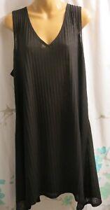 1840ca05a423a Portocruz 3X Women's Black Swimsuit Cover-up Sleeveless Sun Dress ...