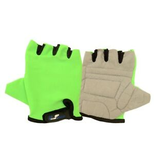 Cycling-Sport-Half-Finger-Gloves-Size-Large