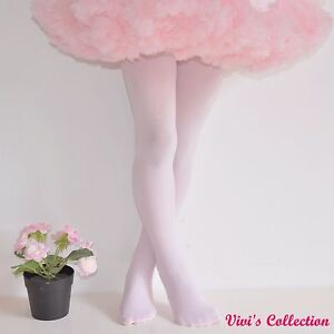 2082e8d2d6cc7 100 Denier Ballet Tights for Girls Kids Children Dancing Footed 3-14 ...