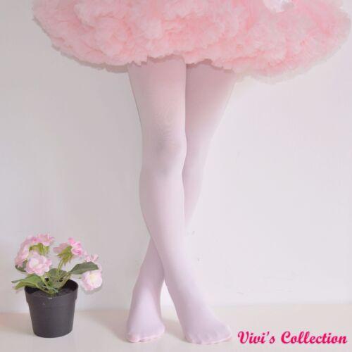 100 Denier Ballet Tights for Girls Kids Children Dancing Footed 3-14 Years