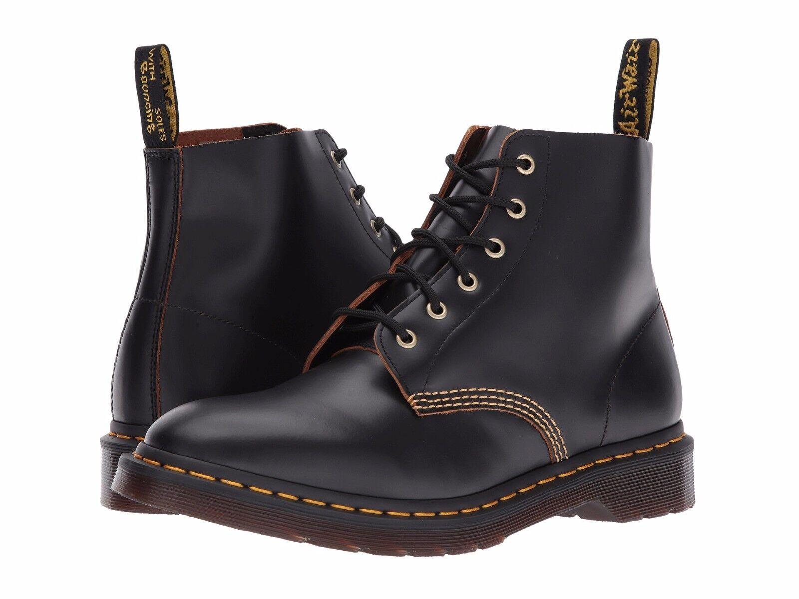 Costa uno la libertà  Men's Shoes Dr. Martens 101 ARCHIVE 6 Eyelet Ankle Boot 22701001 BLACK for  sale online