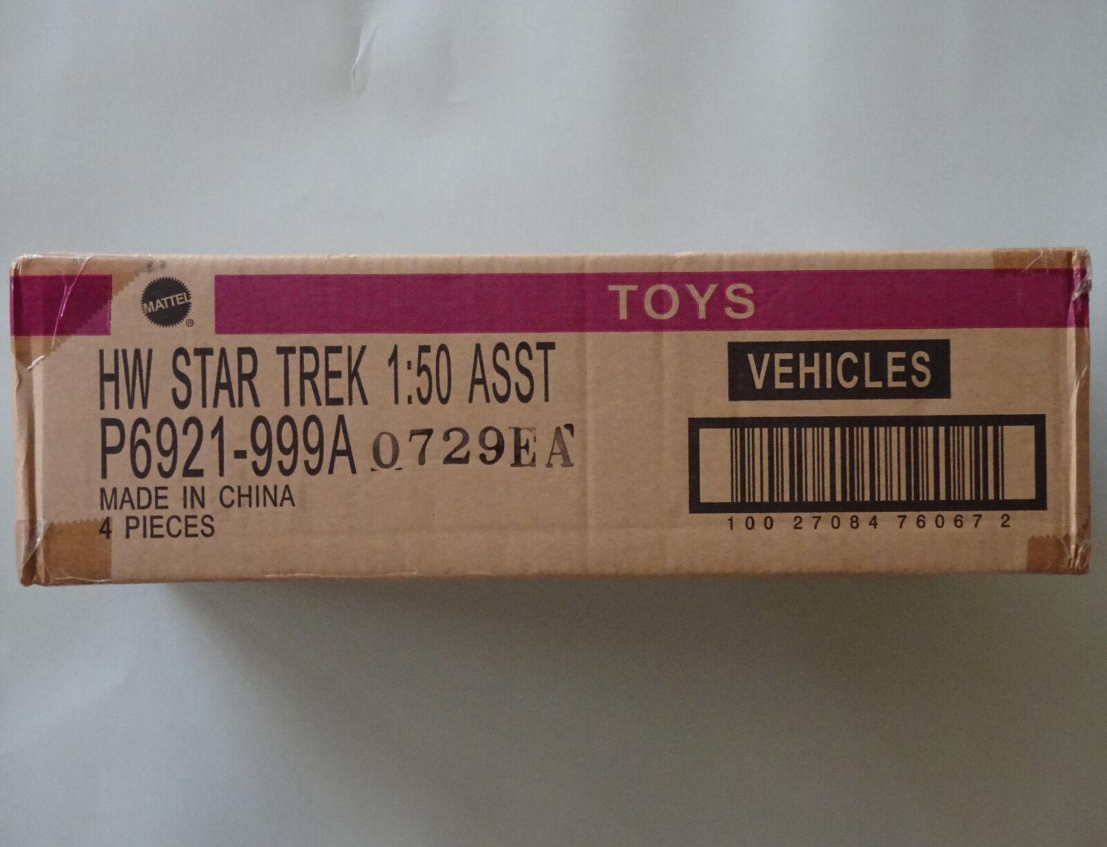 Más asequible Hot Wheels Caja Sellada De De De Estrella Trek 1 50 4ct, 2009  barato y de alta calidad