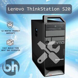Lenovo S20 Cheap Configurable Workstation Windows 10 Pro Upto 3.33GHz SSD 16GB
