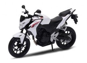 1:10 Welly Honda CB500F Motorcycle Bike Model New in Box White