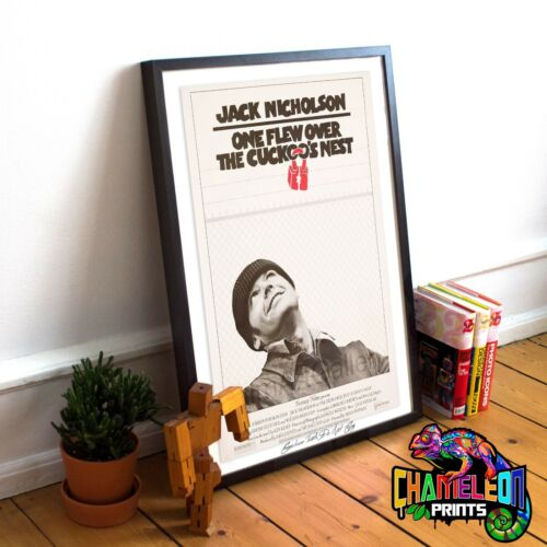 One Flew Over The Cuckoos Nest Movie Poster Print A4 A3