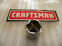 """NEW CRAFTSMAN 3/8"""" Drive Dr - METRIC mm SHALLOW SOCKET 6 Pt Point 6pt - ANY SIZE"""