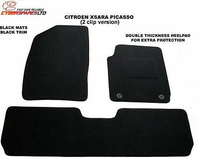 Citroen Xsara Picasso 2000 to 2010 (Two Locators) Fully Tailored Car Mats