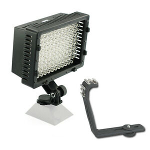 Pro 2 EOS DSLR HD video LED light for Canon 70D 60D Rebel T5i T5 SL1 EF-M AVCHD