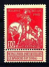 """BELGIUM - BELGIO - 1910 - Pro opere antitubercolari """"Caritas"""""""