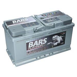 bars platinum starterbatterie 12v 110ah 1000a ersetzt 88ah. Black Bedroom Furniture Sets. Home Design Ideas