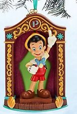 NEW Disney World Store Pinocchio 2014 Sketchbook Christmas Holiday Ornament NIB