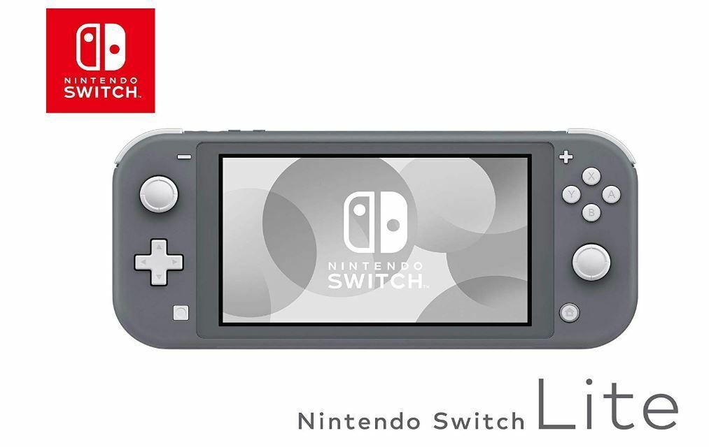 videogiochi e console: NINTENDO CONSOLE SWITCH LITE COLORE GRIGIO