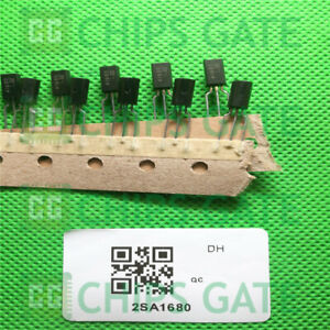 5PCS-2SA1680-Encapsulation-TO-92-TRANSISTOR-POWER-AMPLIFIER-SWITCHING