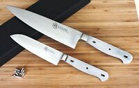 Japanese Damascus Kitchen Chef Santoku Knife Kit Set Blank Vg-10 Steel 67 Layers