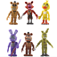 Indexbild 6 - Five Nights at Freddy's Action Figure Pack Set FNAF Nightmare Doll Toy Birthday