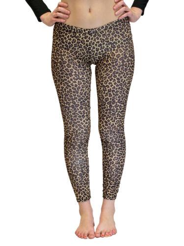 Leopard Vivian/'s Fashions Long Leggings Junior and Junior Plus Sizes
