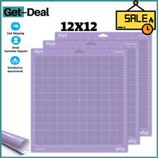 12x12 Purple Cricut STRONGGRIP Cutting MAT 3 Pack 3 Piece