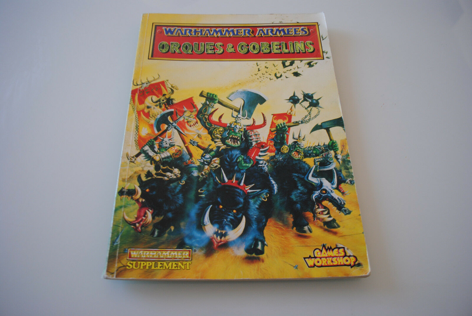 Livre WARHAMMER ARMEES ORQUES & GOBELINS (Version Française)