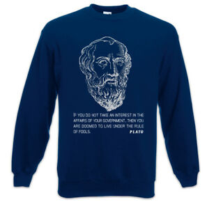 Zitat Plato You If Regierung Sweatshirt Not Widerstand Resistance Do Pullover gCFTYqwC