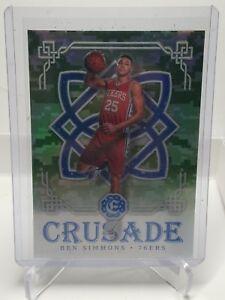 Details About 2016 Panini Excalibur Crusade Camo 91 Ben Simmons Philadelphia 76ers Rookie Card