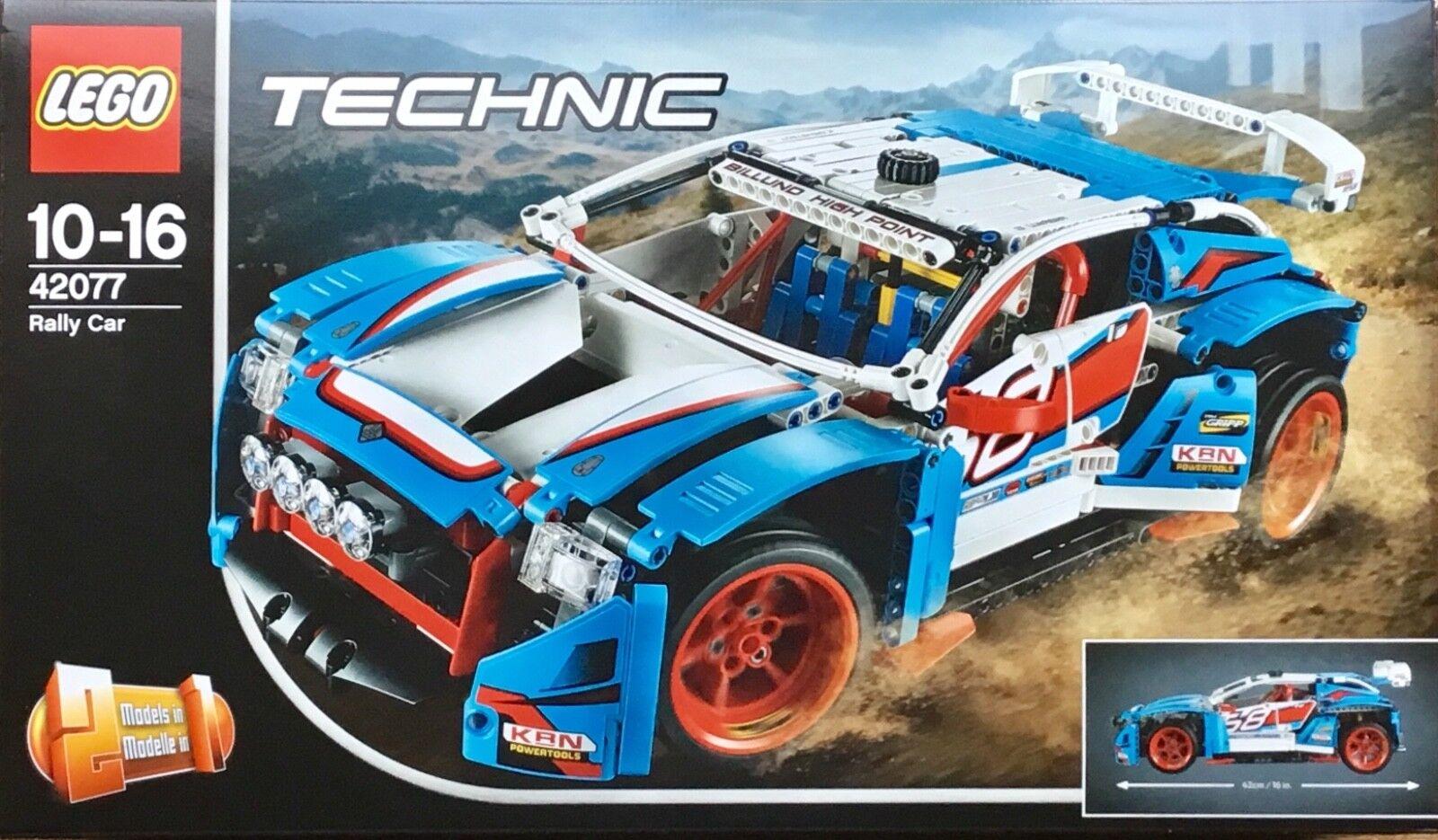 LEGO Technic 42077 RALLY CAR 2018 NEW & SEALED